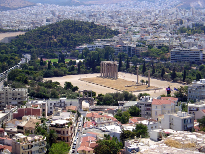 Athens Temple of Zeus