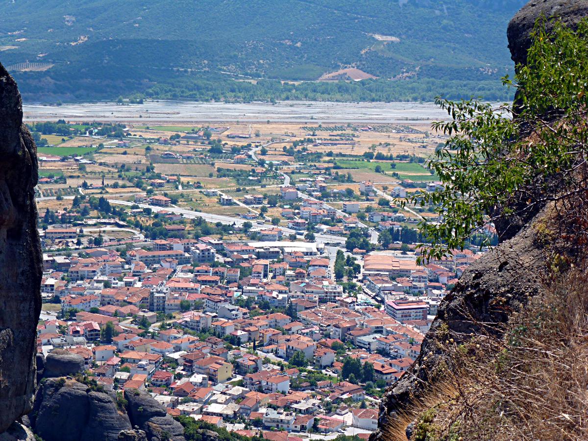 Greece Kalambaka Town