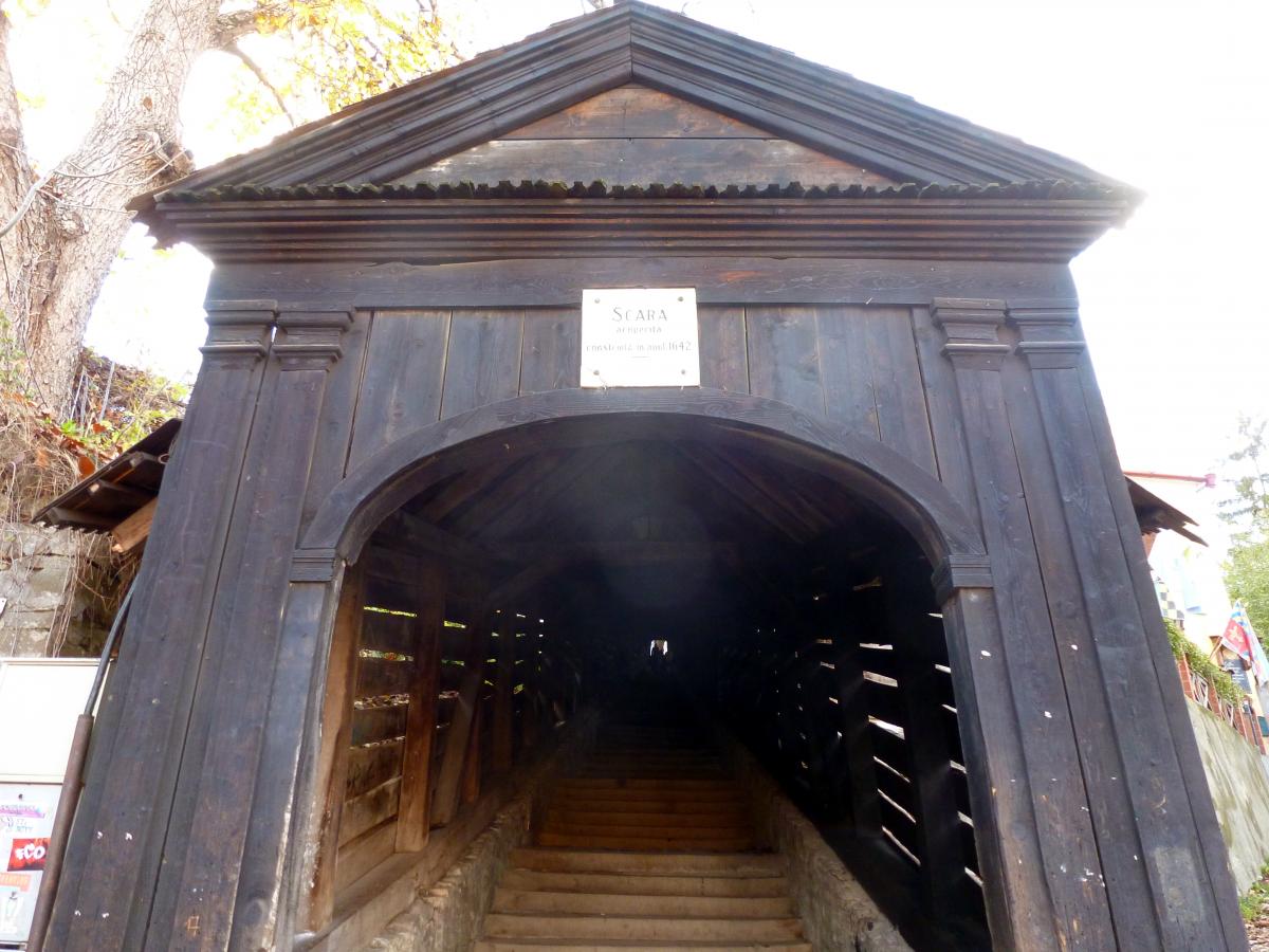 Sighisoara Stairs