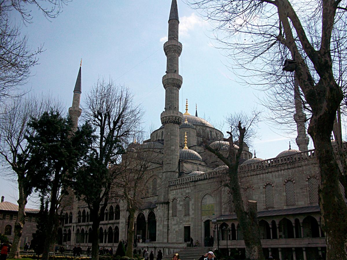 Istanbul minarets